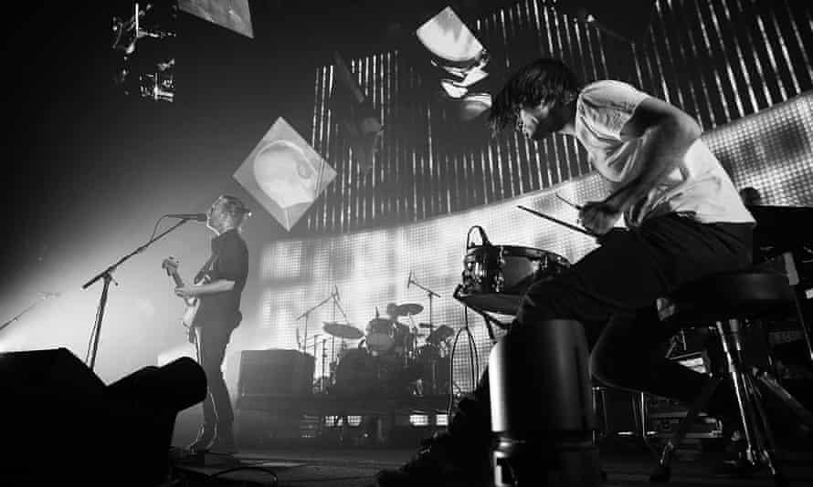 Music bursting its banks … Radiohead play Sydney in 2012.