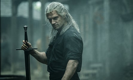 Henry Cavill in a scene from Netflix's The Witcher.