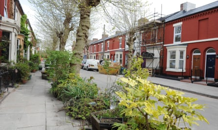 Cairns Street in the Granby Four Streets area of Toxteth, Liverpool, where Assemble helped the local community renovate homes and gardens