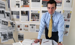 Rodney Edwards deputy editor of The Impartial Reporter has investigated more than 50 allegations of historic sexual abuse.