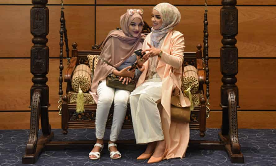 The Saverah Women Expo in London showcased Muslim businesses aimed at women.