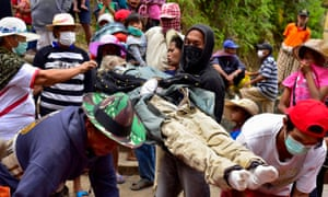 'In Tana Toraja in Indonesia, they hold a festival called Ma'nene, during which they remove the bodies of favoured ancestors from their coffins and clean and dress them. Sometimes they even walk them around the village.'