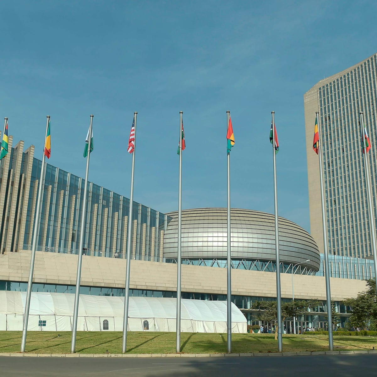 China rejects claim it bugged headquarters it built for African Union    China   The Guardian