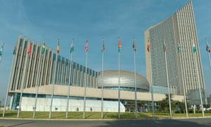 The African Union headquarters in Addis Ababa, Ethiopia, which was reportedly bugged by China for five years.