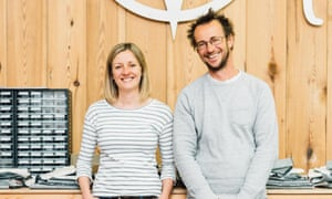 David & Clare Hieatt, founders of Hiutt Denim