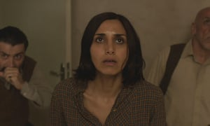 Narges Rashidi, centre, in Under the Shadow.