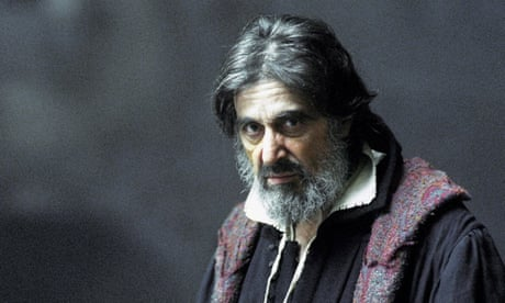 From the Godfather to Shakespeare's mad king – Al Pacino takes on Lear