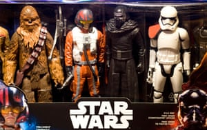 Collectible toys from Star Wars: The Force Awakens