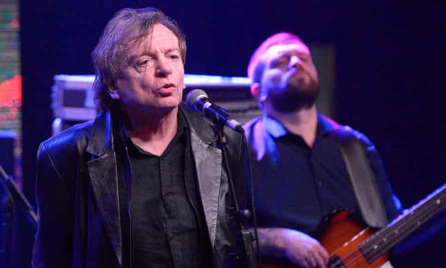Mark E Smith at The Arts Club, Liverpool, in January 2017.