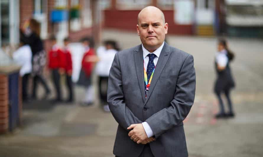 Andrew Moffat, assistant headteacher at Parkfield Community, who established No Outsiders.