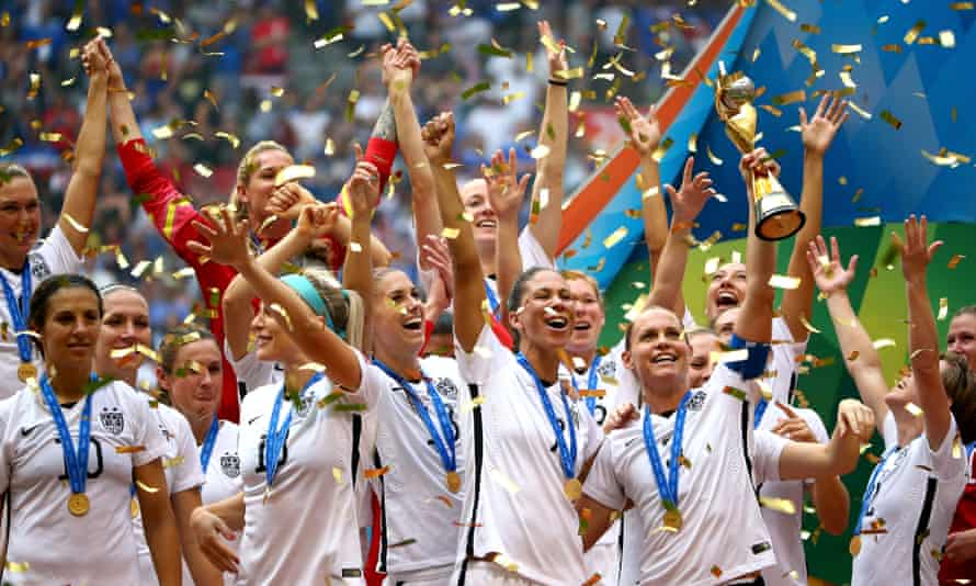 USA won the Women's World Cup in 2015