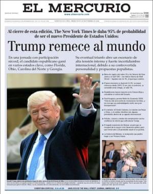 El Mercurio, Chile