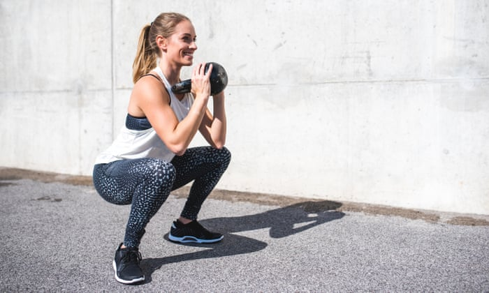 Kettlebells and bedroom parkour: nine tips for keeping fit in lockdown (or long-haul)