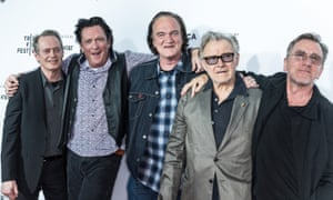 Steve Buscemi, Michael Madsen, Quentin Tarantino, Harvey Keitel and Tim Roth attend the Reservoir Dogs 25th Anniversary Screening at the Beacon Theatre.