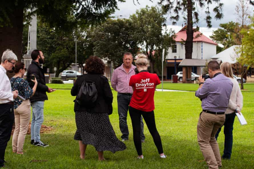 Jeff Drayton, Labor candidate
