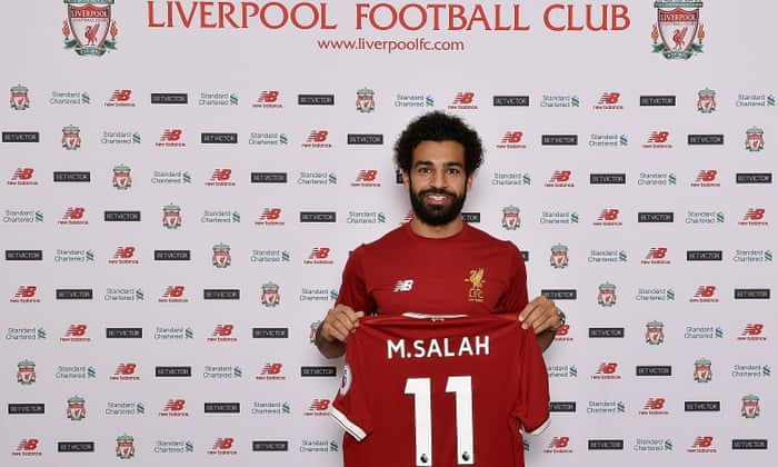 uk availability 06c66 5c472 Liverpool complete record £36.9m signing of Mohamed Salah ...
