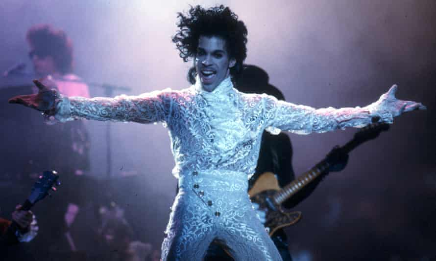 Opening up … Prince.