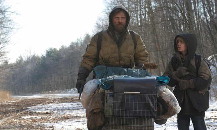 Viggo Mortensen and Kodi Smit-McPhee in The Road, based on Cormac McCarthy's novel.