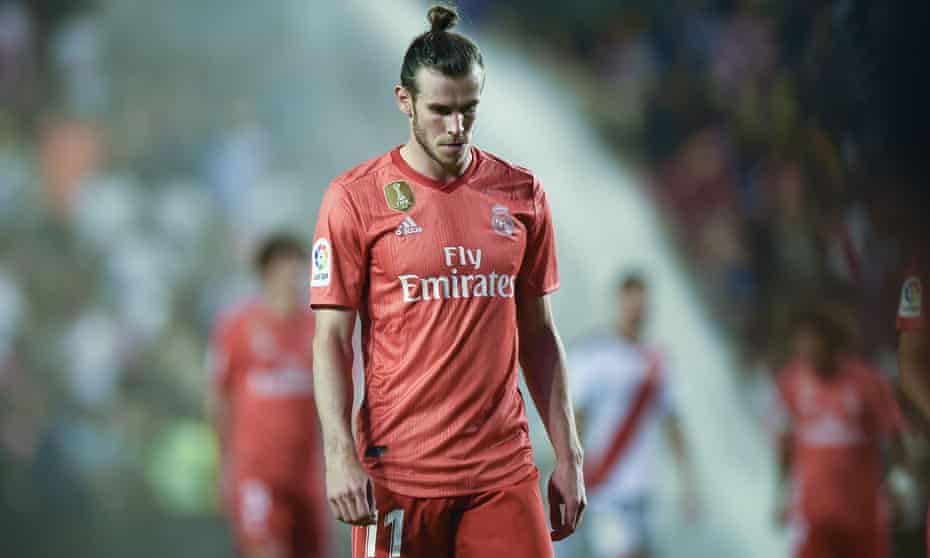 Gareth Bale's limited appearances since Zinedine Zidane returned to the Bernabéu amount to a simple message from the Frenchman: leave.