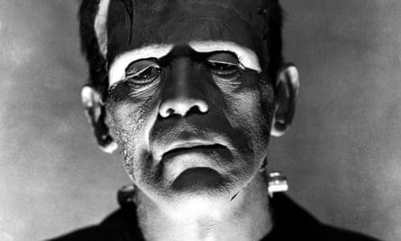 'Great God!' … Boris Karloff in The Bride of Frankenstein, from 1935.