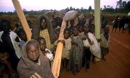 Ugandan child 'night walkers'