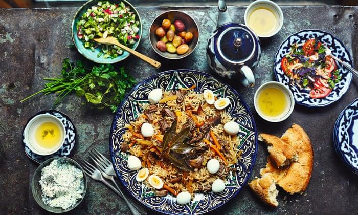 Kết quả hình ảnh cho food in central asia