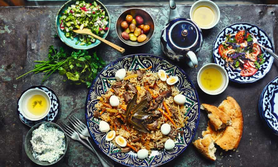 Intriguing flavours in Samarkand by Caroline Eden and Eleanor Ford.