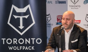 'The whole sporting world has its eyes on this,' Eric Perez said of Toronto Wolfpack's Challenge Cup debut.
