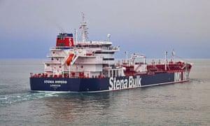 Stena Impero tanker