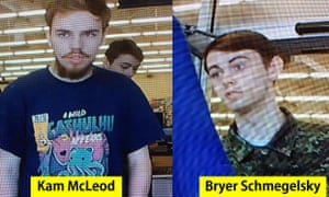 Canada manhunt: Kam McLeod, 19, and Bryer Schmegelsky, 18, are considered main suspects in the murders of 23-year-old Australian Lucas Fowler, and his American girlfriend Chynna Deese, 24