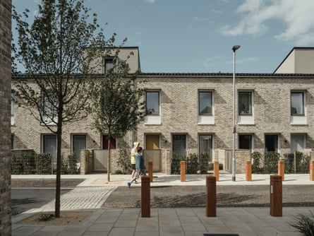 'Onerous, in a good way' … Goldsmith Street homes use passive solar design.
