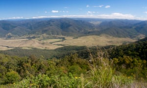 Barrington Tops National Park seen from Carsons Lookout on Thunderbolts Way Near Gloucester