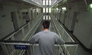 A young inmate at Portland Young Offenders Institution in Dorset, United Kingdom