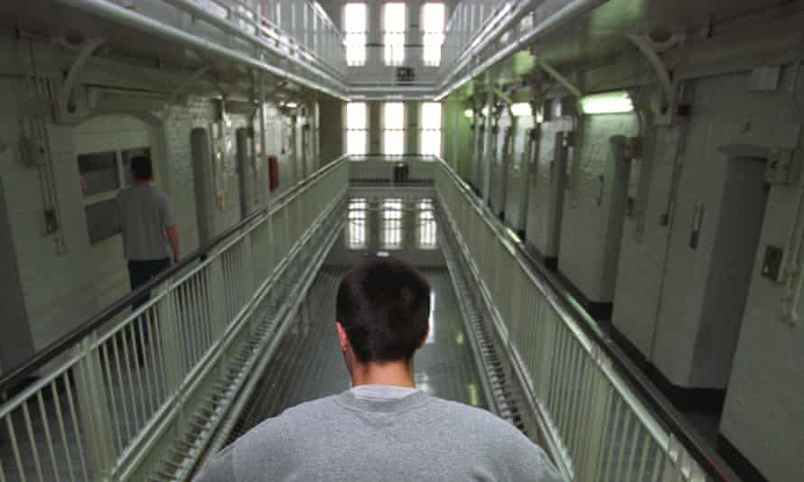 A young inmate in Portland Young Offenders Institution.