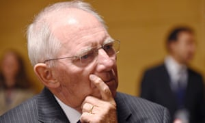 Schäuble in Luxembourg