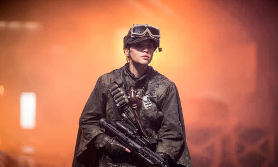 Feleicity Jones as Jyn Erso in Rogue One.