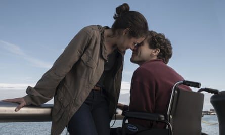 'There's an effective sense of small-scale intimacy throughout' ... Tatiana Maslavy and Jake Gyllenhaal in Stronger.