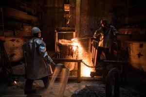 Metal foundry, Armavir, Krasnodar region