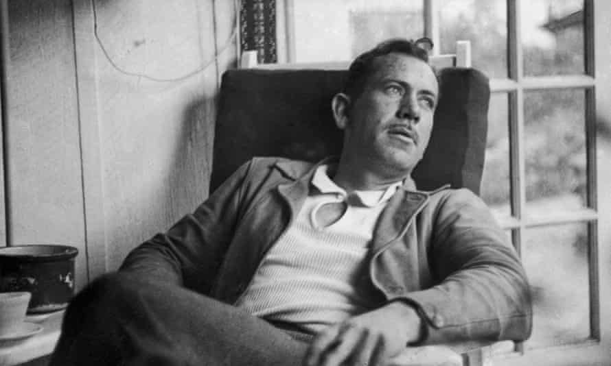 'I'm afraid this book is going to pieces'  … John Steinbeck in 1937.