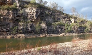 Aboriginal kangaroo traps at the Gungarlook waterhole in Wollondilly