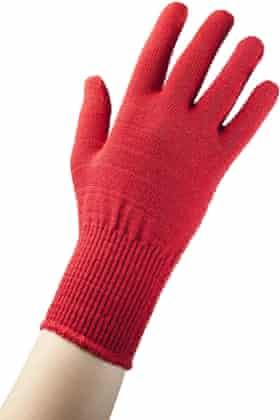 Merino wool thermal liner gloves