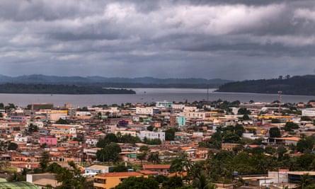 The Altamira skyline.