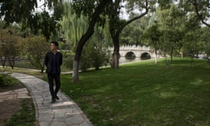The campus of Beijing University (Beida), one of China's top universities.