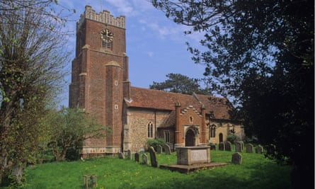 St Peter's church in Charsfield