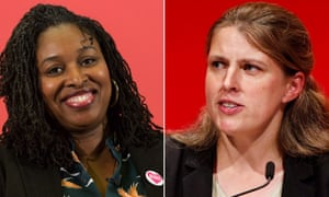 Dawn Butler, left, and Rachael Maskell who have both resigned from the Labour frontbench.