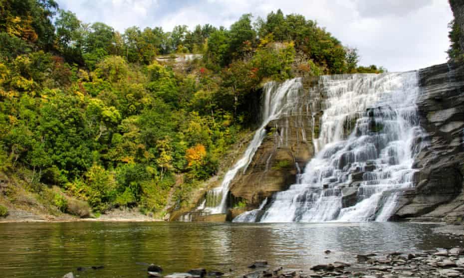 Ithaca Falls, Finger Lakes Region, Ithaca.