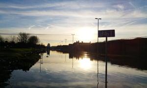Flooding in Leeds