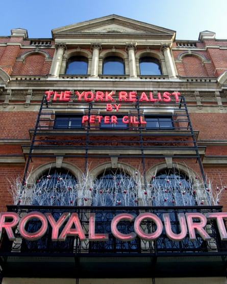 The Royal Court theatre, where Max Stafford-Clark was artistic director from 1979 to 1993.