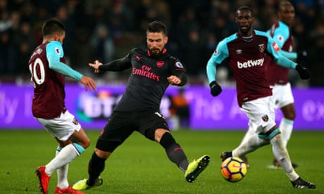 West Ham's revival continues apace with a point against Arsenal