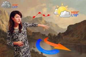 Weather gods … Anita Rochon in Pathetic Fallacy, one of the shows examining the crisis.